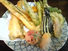 夏野菜&アナゴ天ぷら