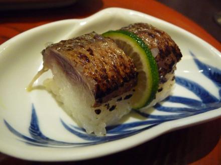 さんま押し寿司