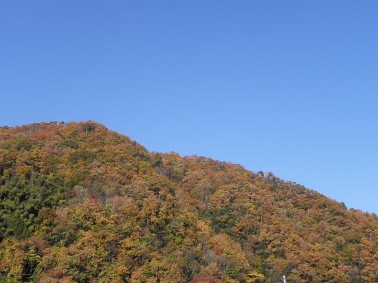 山と今日の空
