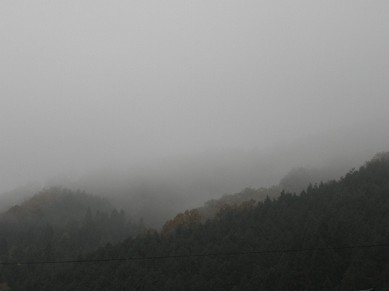 雨・今日の空