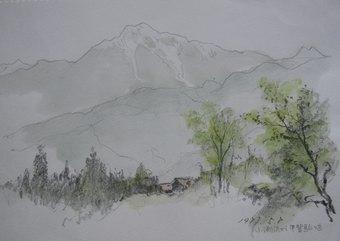 小淵沢から甲斐駒ケ岳(1987・5)