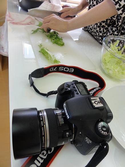水菜カット