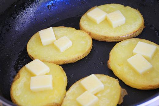 ラクレット フライパン焼き