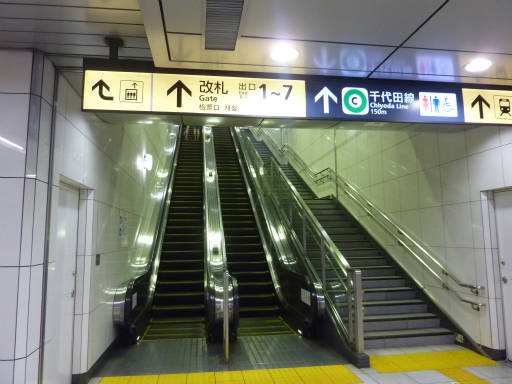 明治神宮前駅~乃木坂駅03