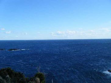 空の青と海の蒼