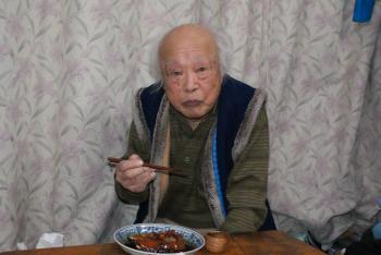 伝三爺さん100歳誕生日
