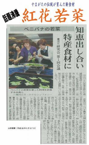 221004紅花若菜チラシ(新聞