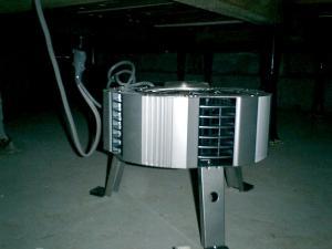 攪拌型換気装置