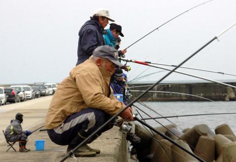 ハタハタの釣り人に何が起こった?