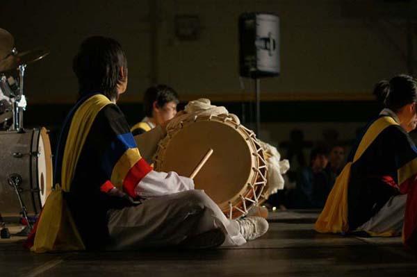 韓国の伝統的なドラム