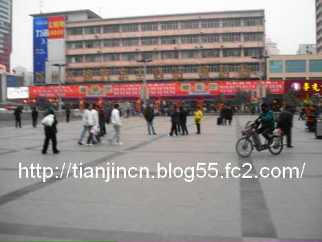 鄭州-開封間の長距離バス2