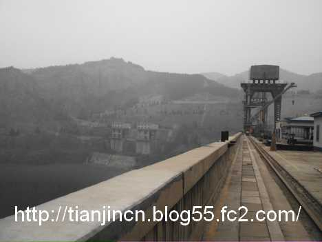 The Scene Sanmenxia Dam on the Yellow River3