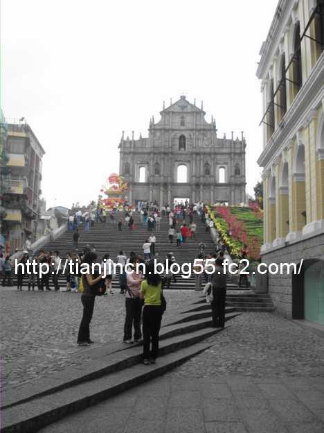 聖ポール天主堂跡2