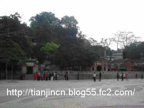 バラ広場(媽閣廟前地