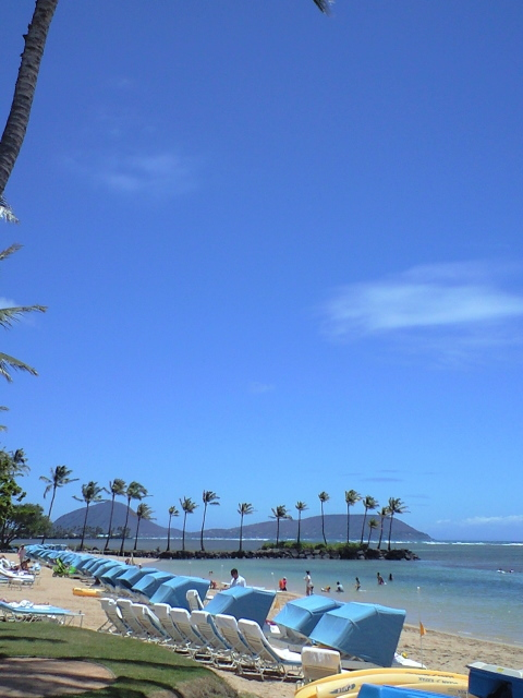 Kahala beach1