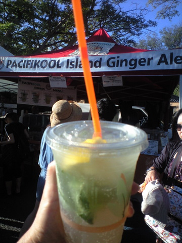 Pacific Cool Ginger Ale!