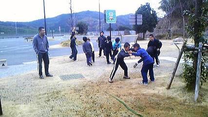 2010徳山_野外練習