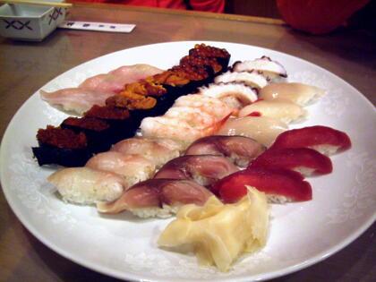 寿司くいねえ。