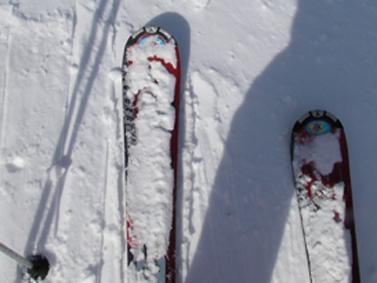 スキーもしました。