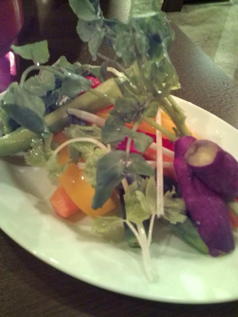 色鮮やかなお野菜