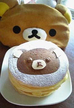 りらっくまホットケーキ