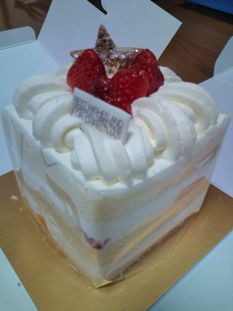 クリスマスケーキだよ~