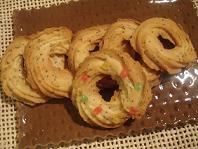 クリームチーズとポピーシードのクッキー☆