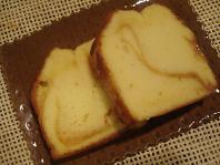 キャラメルマーブルのバターケーキ☆