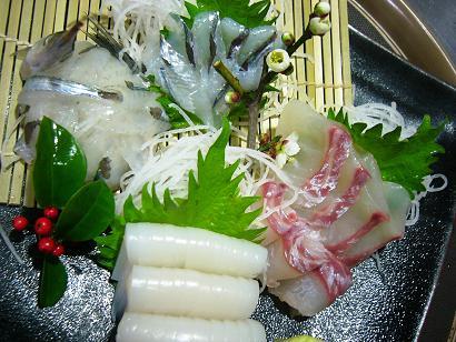 さよりイカ真鯛アジ (2)小