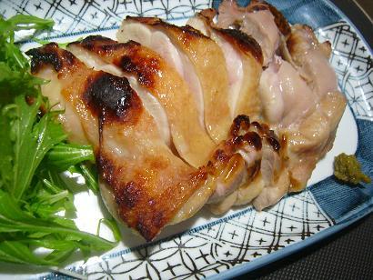 薩摩地鶏柚子胡椒焼き (1)小