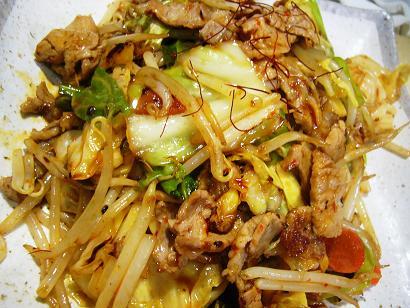 蒸し豚とキャベツピリ辛3 (1)