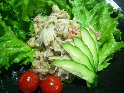 カニ味噌サラダ1 (1)小