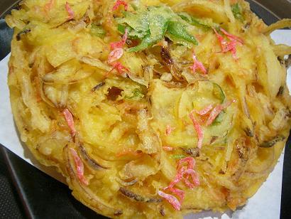 白魚桜エビジャンボかき揚3 (2)小