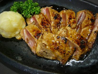 まぐろステーキ (2)小