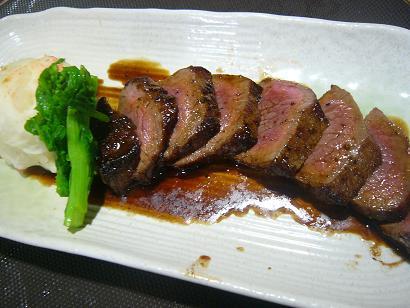 赤牛ステーキ (4)