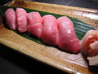 本マグロ握り寿司3