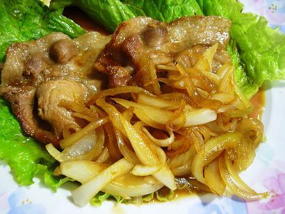 芋豚ロース生姜焼き (3)
