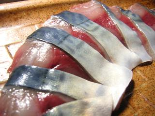 鯖刺身7 (3)小