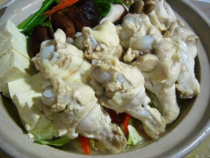 鶏鍋パイタンスープ