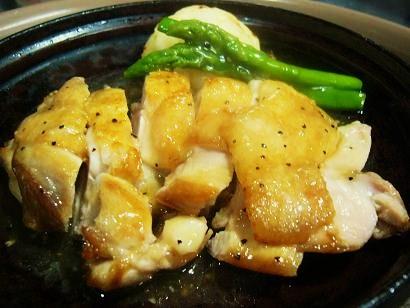 国産若鶏塩ダレステーキ