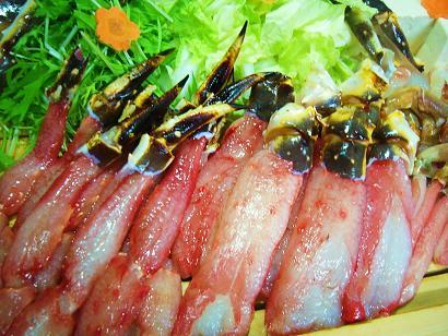 蟹シャブ1