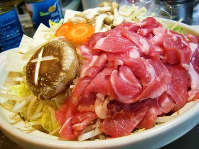 豚肉旨辛味噌鍋