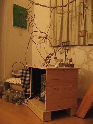 総ヒノキのお家。
