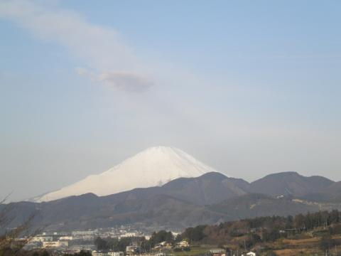 初春の白富士28