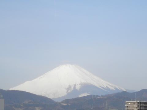 初春の白富士48