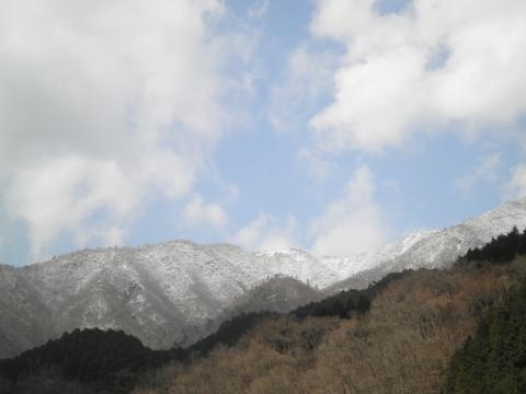 鍋割山を望む243