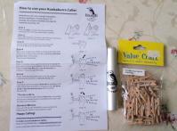 ワライカワセミの笛とミニミニクリップ