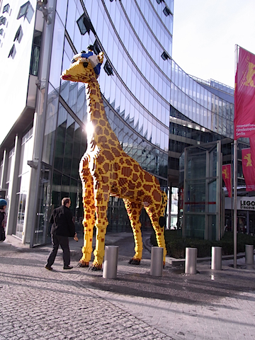 giraffe in Berlin