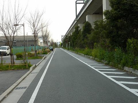 久御山辺りの側道