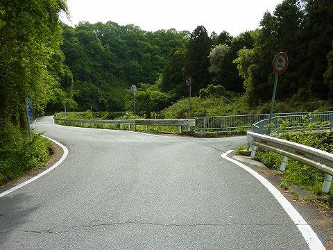 県道12号線の分岐